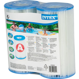 Filter Cartridge Intex Type 'A' Twin pack