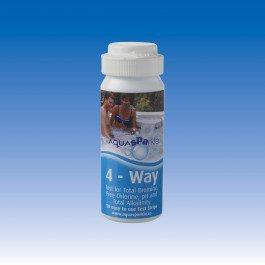 4-Way Test Strips (Cl, Br, pH & Total Alkalinity)