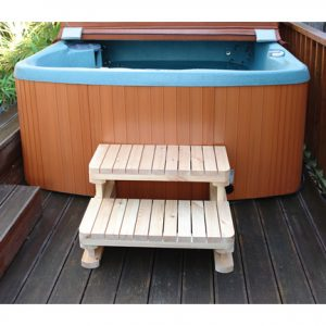 Wooden Spa Step 30in