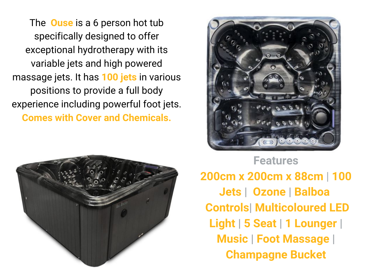 The Ouse 6 Person Hot Tub