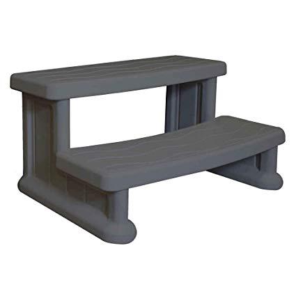 spa side step - grey