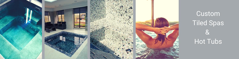 Custom Tiled Spas & Hot Tubs   A6 Hot Tubs