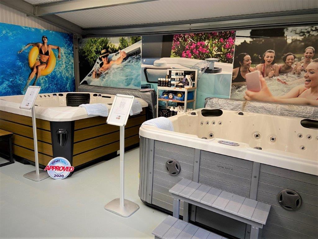 Hot tub showroom Northamptonshire