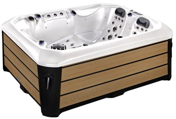 Abbey 3 person hot tub   A6 Hot Tubs