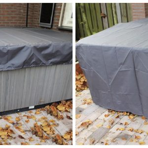 Aero covers for hot tubs