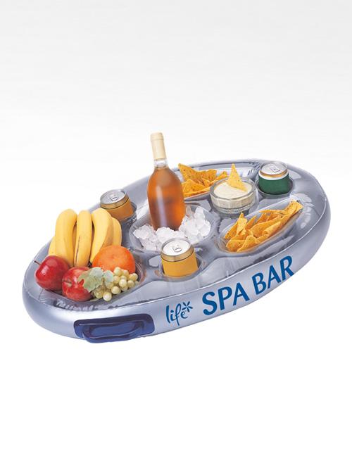 Floating hot tub bar   A6 Hot Tubs