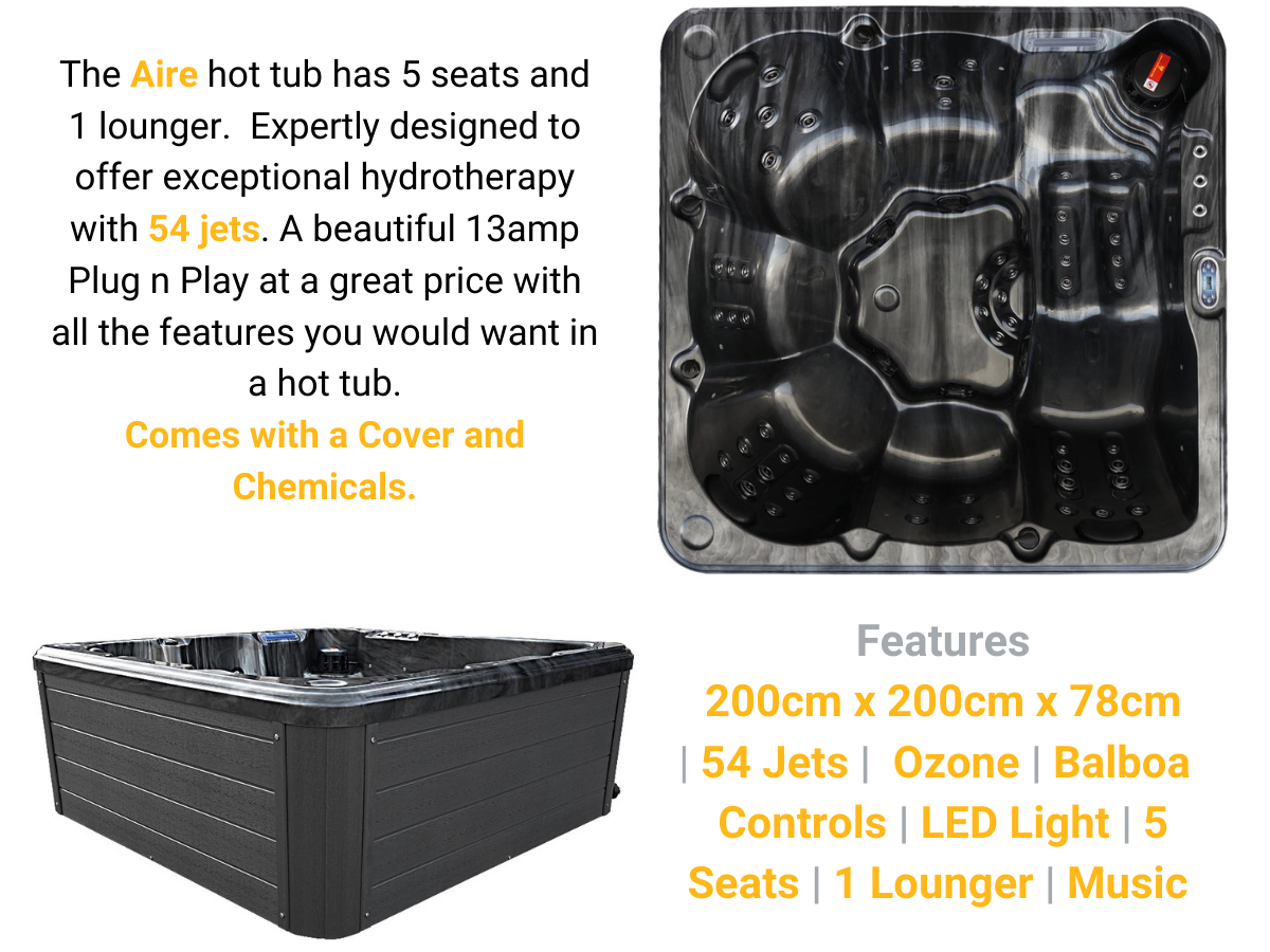 Aire 6 person Hot Tub